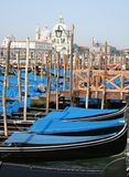 Venetian gondola park Stock Photo
