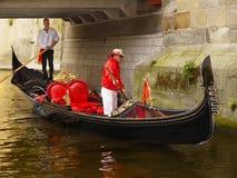 Venetian Gondola Romantic Cruise Royalty Free Stock Image