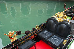 Venetian gondola Royalty Free Stock Images