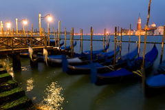 Venetian gondolas Royalty Free Stock Photography
