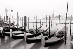venetian gondoler Royaltyfria Bilder