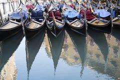 Venetian gondoler royaltyfri bild