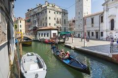 Venetian Gondoliers Стоковые Фото