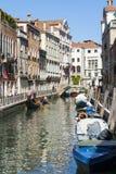Venetian Gondoliers Royaltyfri Fotografi