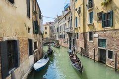 Venetian gondoliers Royalty Free Stock Photography