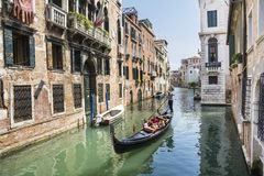 Venetian gondoliers Royalty Free Stock Photo