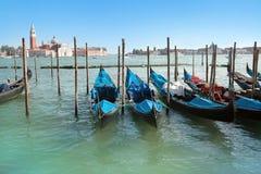 venetian gondollagun Royaltyfri Bild