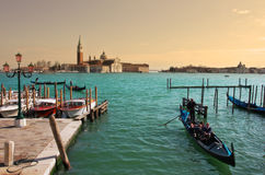 Venetian Grand Canal. Stock Images