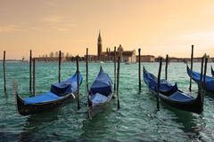 Venetian Grand canal. Stock Photography