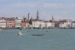 Venetian Grand Canal Stock Image