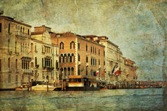 Venetian Grand Channel Royalty Free Stock Photography