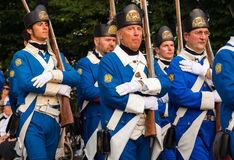 Venetian guards Royalty Free Stock Photography