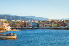 Venetian habour of Chania, Crete, Greece Stock Photography