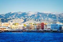 Venetian habour of Chania, Crete, Greece Stock Photography