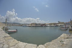 Venetian harbour Royalty Free Stock Photo