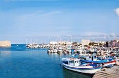 venetian heraklion гавани гаван Стоковые Фотографии RF