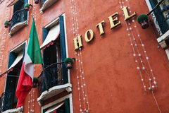 Venetian hotel Stock Images