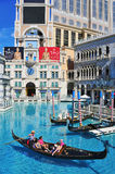 The Venetian Hotel Casino in Las Vegas Royalty Free Stock Image
