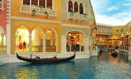 The Venetian Hotel Casino in Las Vegas Royalty Free Stock Photo
