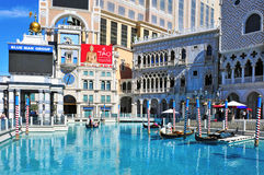 The Venetian Hotel Casino in Las Vegas Royalty Free Stock Photos