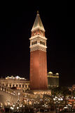 The Venetian Hotel and Casino in Las Vegas, Nevada royalty free stock image