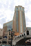 Venetian Hotel and Casino Royalty Free Stock Image