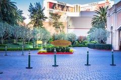 The Venetian Hotel and Casino vehicle driveway Stock Photo