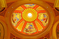 The venetian hotel ceiling, macau Stock Photography