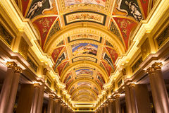 The venetian hotel decoration Macau Royalty Free Stock Images