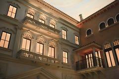 Venetian Hotel Facade Stock Photography