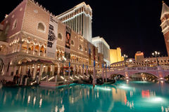 The Venetian hotel in Las Vegas Stock Photos