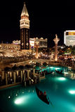Venetian Hotel in Las Vegas Royalty Free Stock Images
