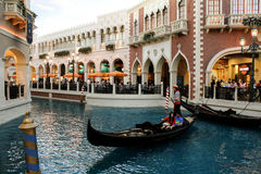 Venetian Hotel Las Vegas, NV Royalty Free Stock Photo