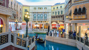 The Venetian Hotel, Macao Stock Photo