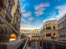 The Venetian Hotel, Macao Royalty Free Stock Photography