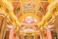 The Venetian Hotel in Macau Stock Image
