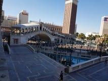 Venetian hotell Arkivbild