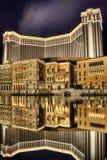 venetian hotell Arkivbilder