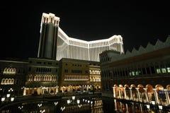 venetian hotellmacao semesterort Royaltyfria Bilder