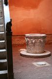 Venetian house. Interior yard in old Italian house Stock Photography