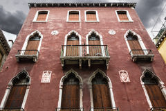Venetian house Stock Images