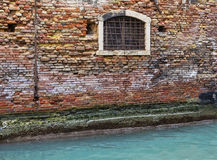 Venetian House-Wall Detail Stock Photos