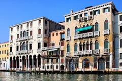 Venetian houses Stock Photo