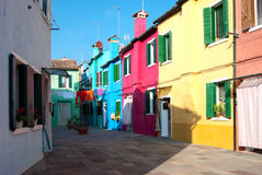 Venetian Houses Royalty Free Stock Photo