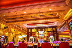 The Venetian interior Stock Photos