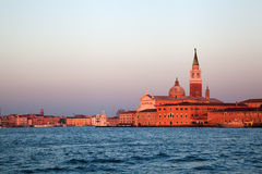 Giudecca at dusk Stock Photo