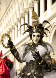 Venetian Jester Royalty Free Stock Photos