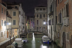 venetian kanal Arkivbild