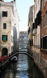 venetian kanaler Arkivfoton