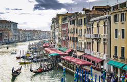 venetian kanaltusen dollar Royaltyfri Foto